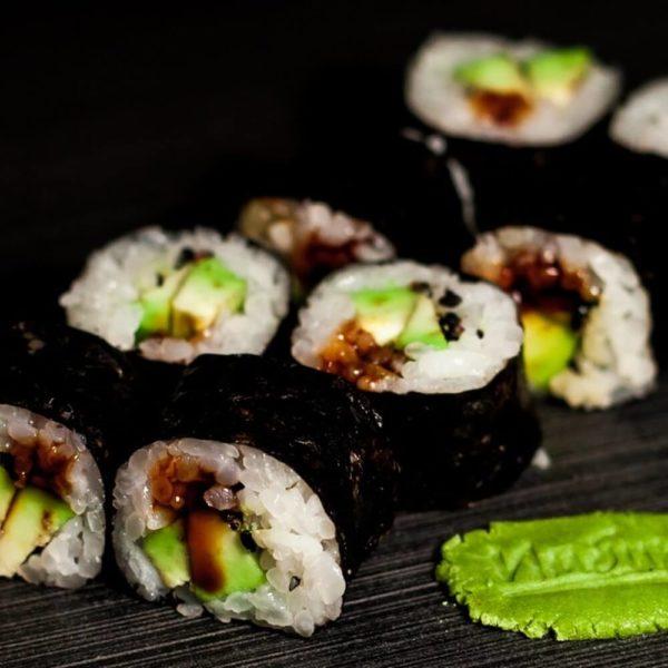 Maki Avokado Sushi Maki Kioto Festival Sushi Belaja Cerkov