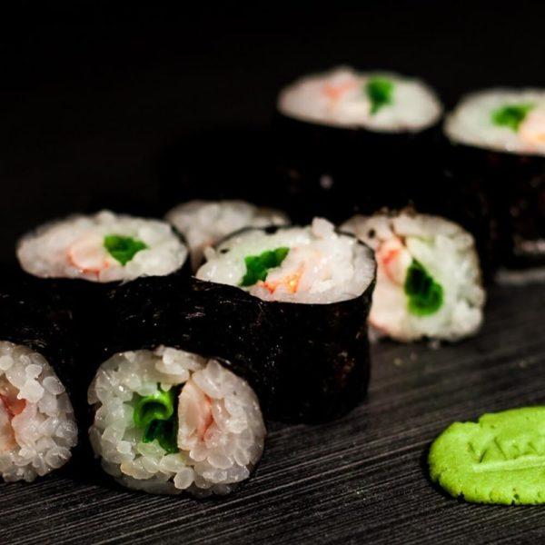 Maki Krevetka Sushi Maki Kioto Festival Sushi Belaja Cerkov